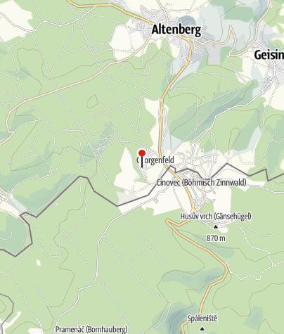 "Karte / 3-Berge-Wanderung - Wanderwoche ""Echt Erzgebirge"""