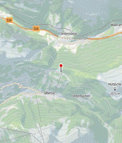 Karte / Knappastoba am Kristberg