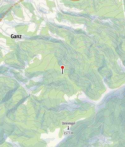 Karte / Ganzalm Halterhütte