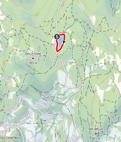 Mappa / Lago di Santa Colomba A