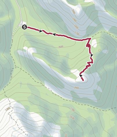 Map / Sulphur Skyline Trail