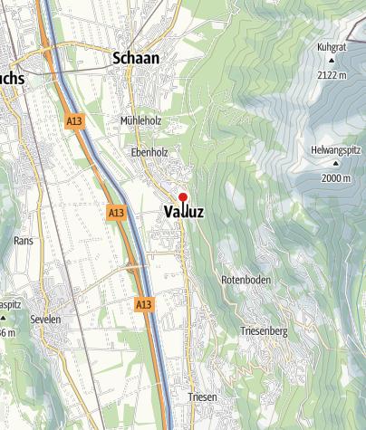 Karte / Kunstmuseum Liechtenstein