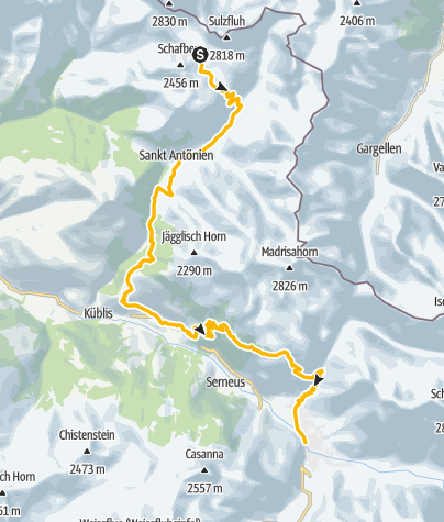 Karte / 333.02 Swiss Bike Masters