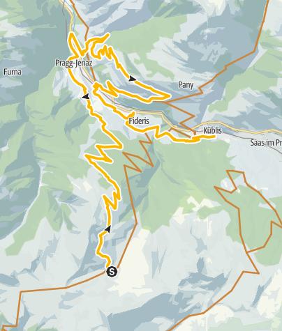 Karte / 333.04 Swiss Bike Masters