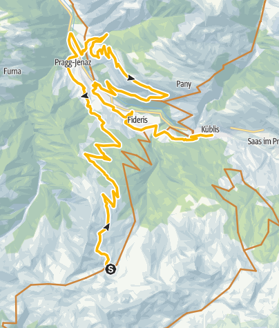 Kaart / 333.04 Swiss Bike Masters