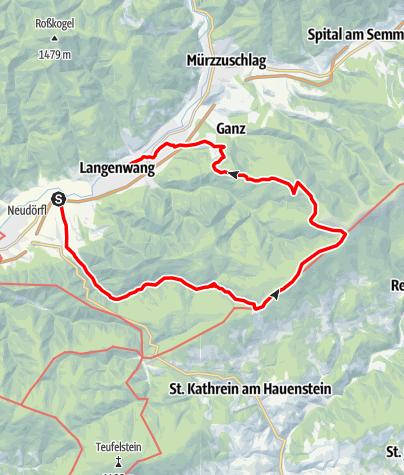 Karte / Windparkrunde
