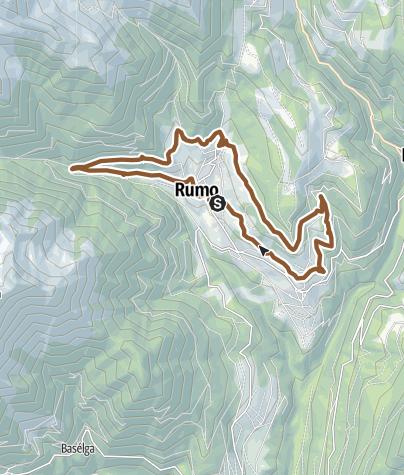 Cartina / Tour 1429 - Ziro del Lez: Un vecchio canale irriguo come tracciato MTB