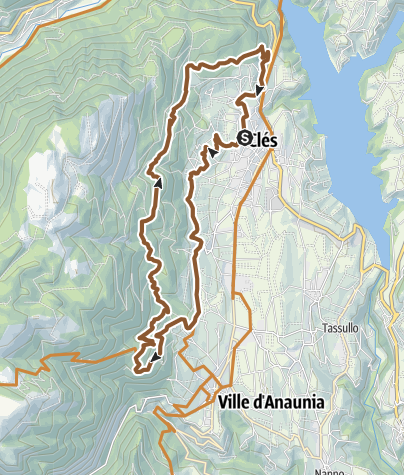 Cartina / Tour 1439 - Senter del Guardia: sui passi del guardiacaccia