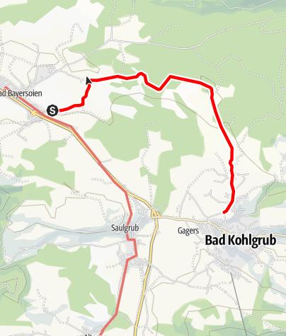 Karte / Themenweg- Der HAIKU-Weg - Bad Bayersoien - Bad Kohlgrub