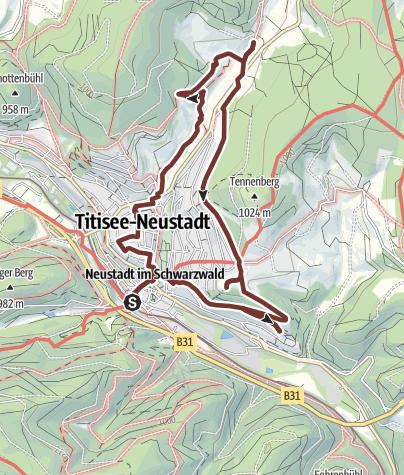 Karte / Das Münster in Neustadt auf neuen Wegen entdecken