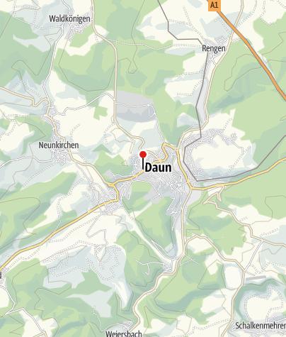 Kaart / Krimiforum Tatort-Eifel