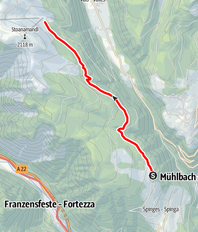 Mapa / Wanderung Parkplatz Naherholungszone Bunker - Anratterhütte