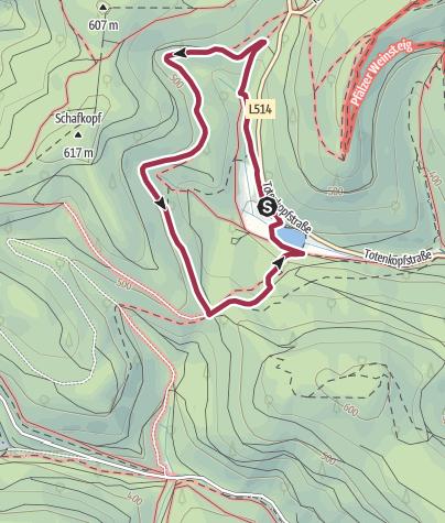 Karte / St. Martin - Auerochsenweg