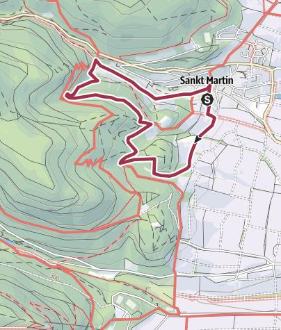 Map / St. Martin - Martinusweg