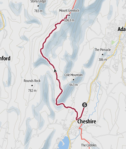 Map / Hiking in the Berkshires: Cheshire to Mount Greylock Summit