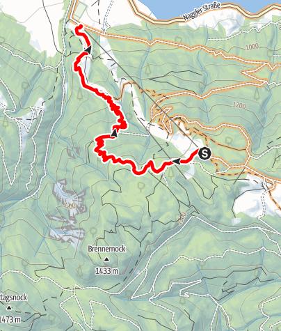 Karte / MTB-Trail Panorama West