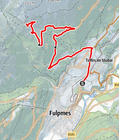 Karte / 564 Pfarrachalm