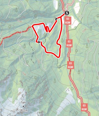 Karte / Narzissenwiese Bärental