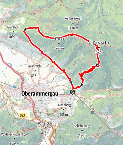 Map / Hike – Aufacker