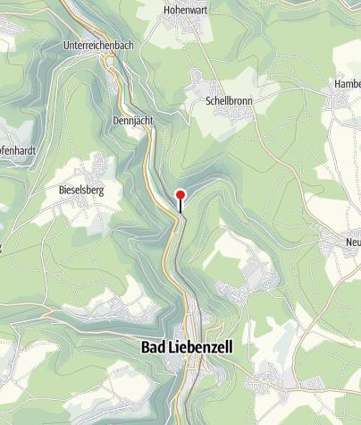 Karte / Monbachsiedlung