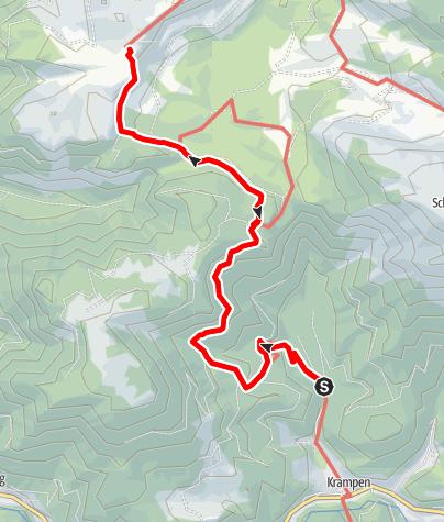 Karte / Kaiserliche Wanderung auf die Hinteralm im Naturpark Mürzer Oberland