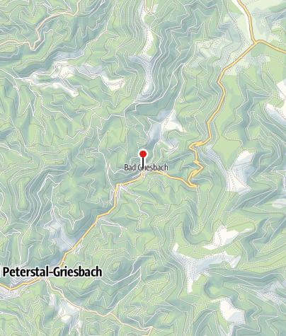 Karte / Bad Griesbad/Adlerbad