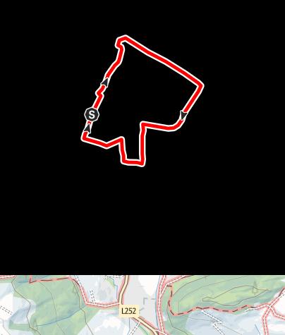 Karte / Zentrums-Rundgang