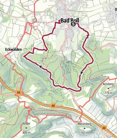 Karte / Uhu-Weg