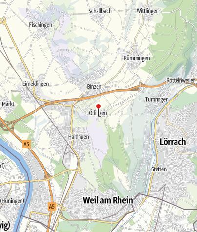 Karte / Ötlingen/Oberdorf
