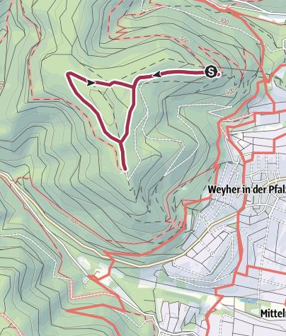 Map / Rhodt - Rietburg-Rundweg