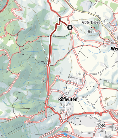 Karte / Der Bergwiesenpfad