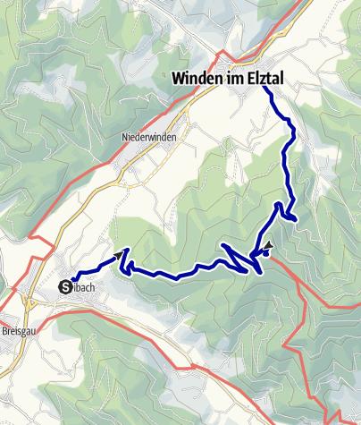 Karte / Von Bleibach zum Hörnleberg