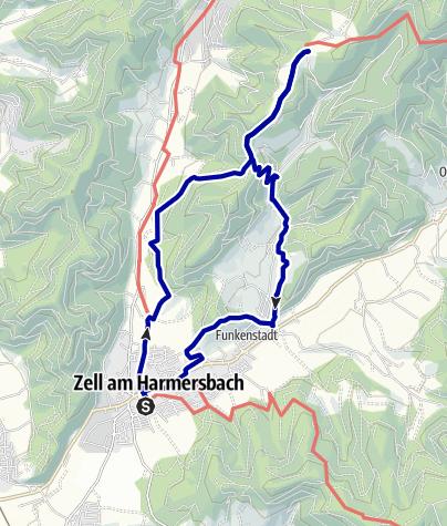 Karte /  Zum Vogt auf Mühlstein