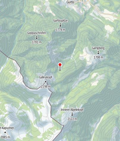 Karte / Galinaalpe