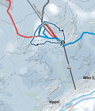 Karte / Laucherntrail