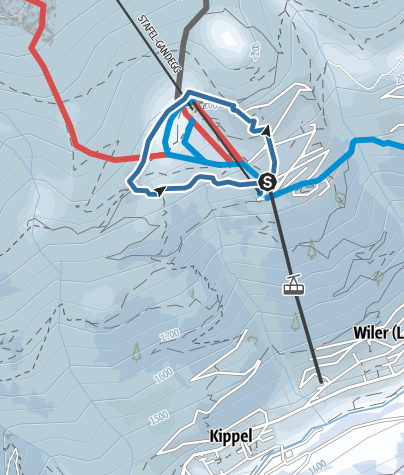 Map / Lauchern Trail