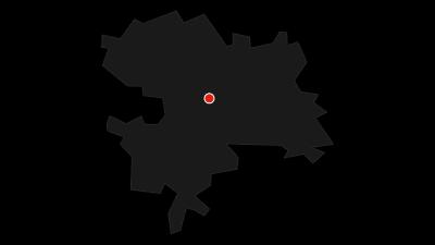 Map / Coburger Rundwanderung mit Naturschutzgebiet Goldbergsee   Coburg.Rennsteig