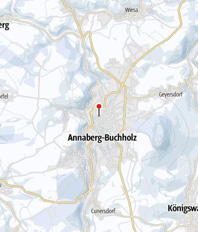 Karte / Annaberger Weihnachtsmarkt