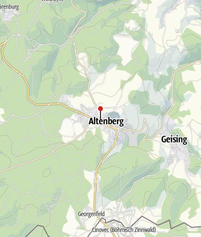 Karte / Kräuterlikörfabrik Altenberg