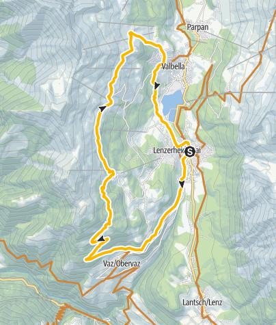Karte / 603 Alpen-Tour