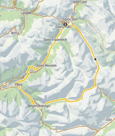 Map / 339 Scalettapass / Keschhütte