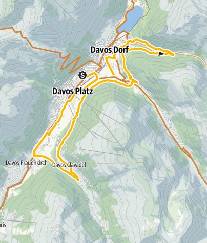 Map / 337 Davoser Taltour (E-MTB tauglich)