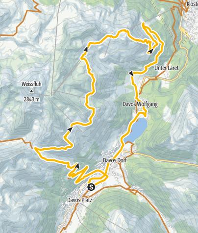 Karte / 332 Parsenn