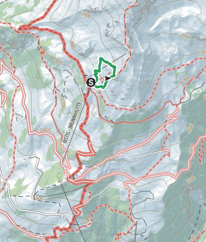 Map / Klettersteig Brunnistöckli