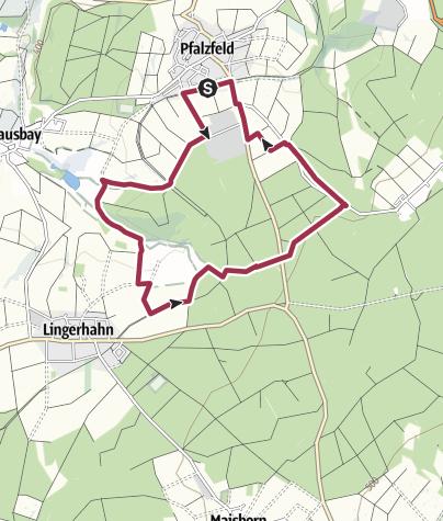 Kaart / Traumschleifchen Baybachquellen