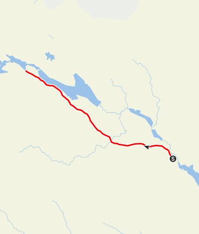 Karta / Helgonleden, Höltjärn till Torsborg