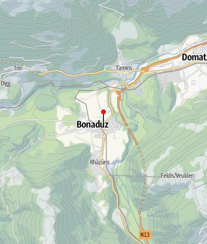 Karte / Bonaduz