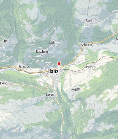 Karte / Ilanz: Bahnhof