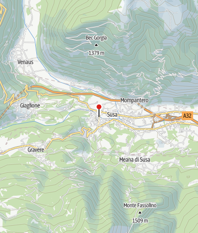 Karte / Susa: Sta-Maria-del-Ponte