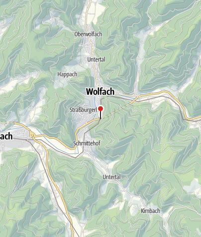 Karte / Wolfach